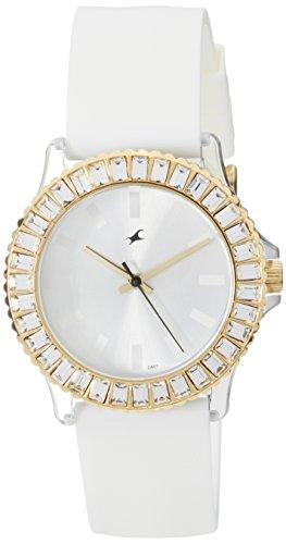 Fastrack Hip Hop Analog White Dial Women's Watch - NE9827PP01J