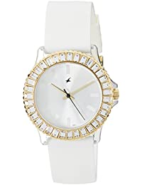 Fastrack Hip Hop Analog White Dial Women's Watch -NK9827PP01