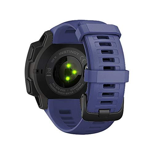 Unisex Bestes Geschenk für Garmin Instinct !!! Beisoug Fashion Sport Silikon eQuick Release Ersatzband Fitness Uhrenarmband Casual Samrt Fitness Armband