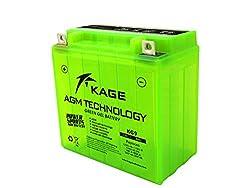 GEL-Batterie-KAGE Green YB7-A YB9-B YB9A-A 12N9-4B-1 9AH für Aprilia Cagiva Daelim Derbi Gilera Harley Davidson Kawasaki Keeway KSR-Moto Kymco Malaguti SYM Vespa