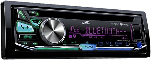 JVC KD-R971BT Autoradio USB/CD-Receiver mit Bluetooth inkl. A2DP schwarz