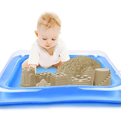 Mitlfuny -> Haus & Garten -> Küche , Dining & BarAufblasbare Sandkissen, Schloss Sand Tisch, Kinder Indoor Spiel Sand Schlamm (Cover Tissue Strand Box)