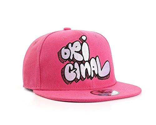 ORIGINAL Rose Casquette Réglable (Pink Snapback Cap)