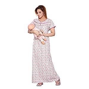 Soulemo Women's Poly-Cotton Maternity Nightwear (279)