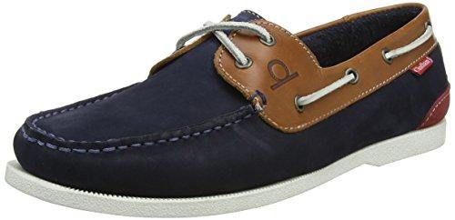 Chatham Herren Galley II Bootsschuhe Blue (Navy Tan 009)
