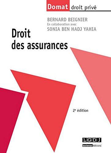 Droit des assurances, 2me Ed.