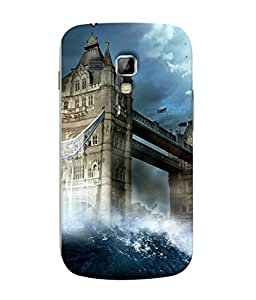 99Sublimation Designer Back Case Cover for Samsung Galaxy S Duos 2 S7582 :: Samsung Galaxy Trend Plus S7580 (Response Ask Inquire Attire Dress Away Absent)