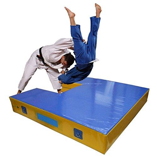 Materasso di Caduta per proiezioni Judo con rientranza Personalizzata cm 200x200x20 - Trasporto incl
