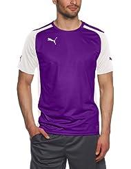 PUMA - Camiseta deportiva para hombre morado Team Violet-white Talla:large