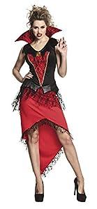 Boland 70502 - Disfraz para Adultos, Talla 44/46, Color Negro y Rojo