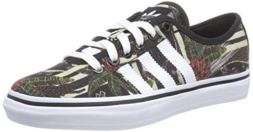 adidas Adria Low - Zapatillas Para Mujer, Color Negro (Core Black/FTWR White/Core Black), Talla 41 1/3