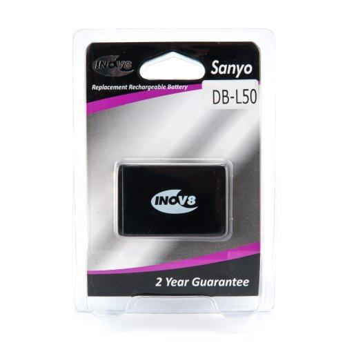 Inov8 Li-ion Ersatz Akku für Sanyo DB-L50 Kamera