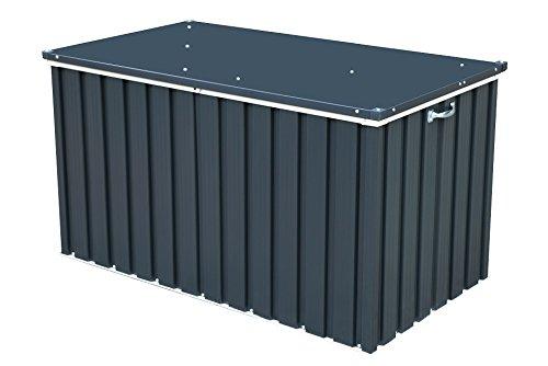 Duramax grau Metall Kissen Aufbewahrungsbox 4x 2128.0x 68,0x 73.0cm, grau Metall Kissen Aufbewahrungsbox–(1-)