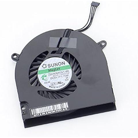FEBNISCTE A1278 - Ventilador de refrigeración para Macbook Pro 13