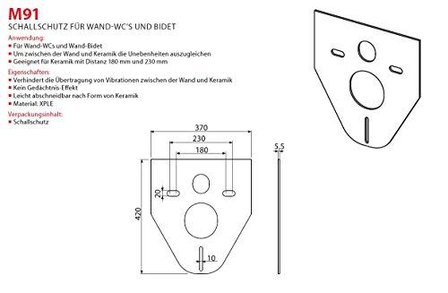 WC Vorwandelement für Trockenbau 120 cm inklusive Betätigungsplatte Weiss Oval Unterputzspülkasten Spülkasten Wand WC hängend 120 cm Schallschutz