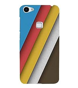 FUSON Colorful Backdrop Abstract Illustration 3D Hard Polycarbonate Designer Back Case Cover for Vivo X7