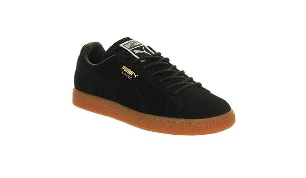 Puma Suede Classic Black Gum Exclusive
