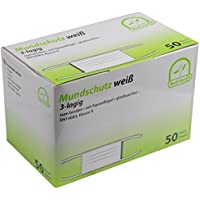 Mundschutz 3-lagig mit Bändern medi-Inn ver. Farben und Mengen EN114683 TypII (weiß,50 Stück) preisvergleich bei billige-tabletten.eu