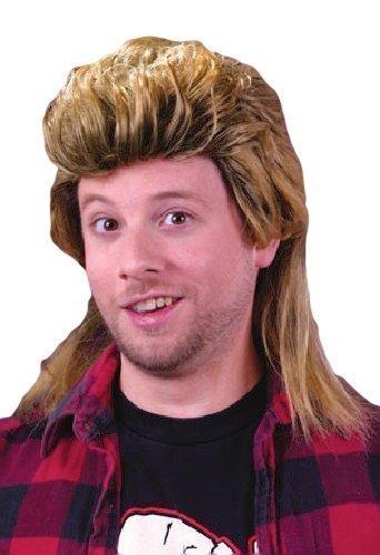 1980s Mullet Wig for Men