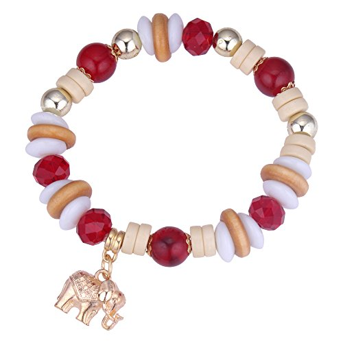 Qh Jewelry Pulsera - Pulsera Hecha a Mano de Elefantes étnicos de...
