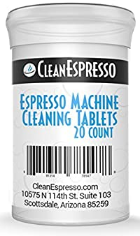 Espresso Machine Cleaning Tablets - (20-Pack) Model SA-020 - For Saeco Espresso Machines.