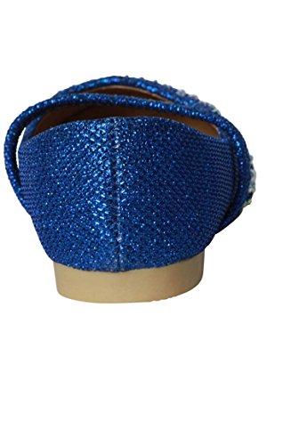 Blau Ballerinas für Mädchen Blau