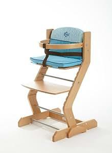 ticaa baby hochstuhl tissi buche massiv mit gurt und b gel k che haushalt. Black Bedroom Furniture Sets. Home Design Ideas