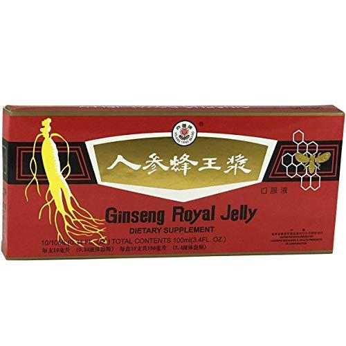 [ ✅ Premium Qualität ] Ginseng & Royal Gelee   Ginseng Royal Jelly   Effektive Ergänzung in Zeiten von Kälte und Müdigkeit   Trinkampullen 10x10ml -