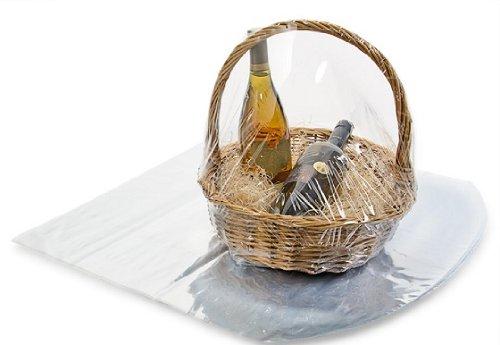 Geschenkkorb/Korb Cellophan Shrink-Wrapper 50cm x 45cm (20