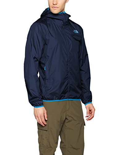 The North Face Herren Jacke Tanken Windwall, Blau (Urban Navy), 48 (Herstellergröße: Large) (Face Track North Jacket)