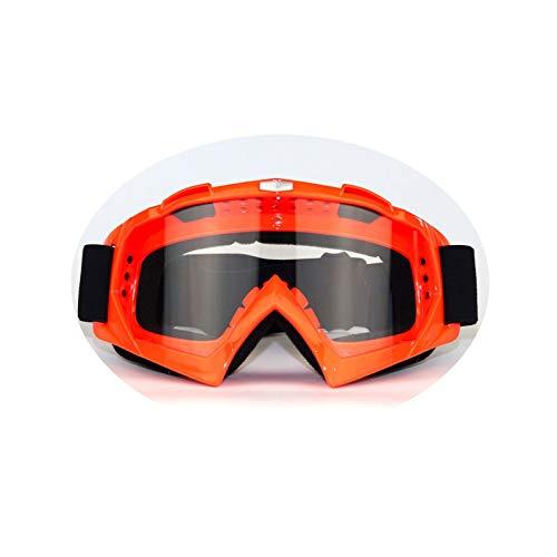Gnzoe TPU+PC Motorradbrillen Radsportbrille Snowboardbrille Schutzbrillen für Motorrad Fahrrad...