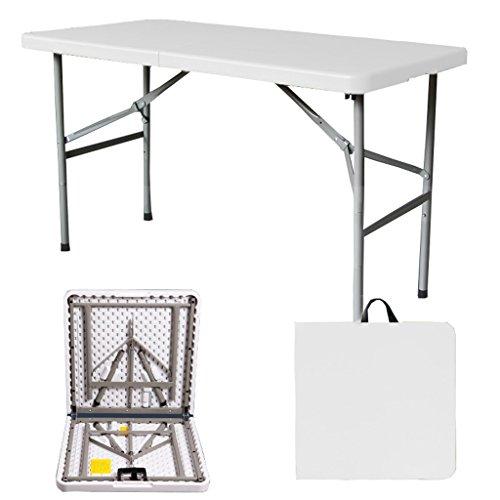 TMY Klapptisch-rechteckige Tabelle im Freien Schwere Tragbare...