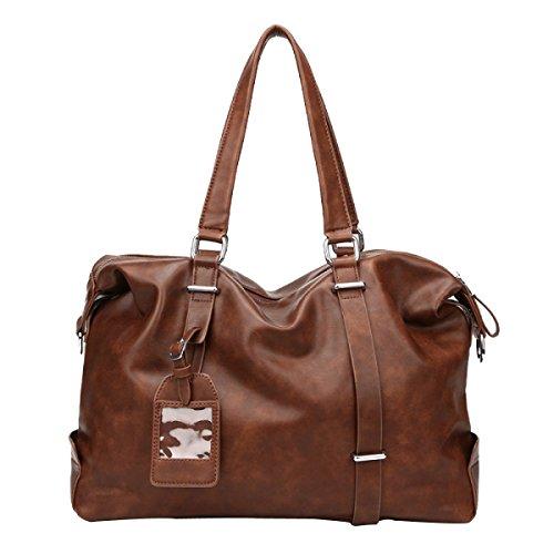 Männer Casual Bag Handtasche Umhängetasche Männer Brown
