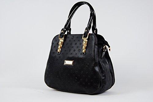 Tasche Damentasche Handtasche Luxus Taymir Detailprägung 2 Jahre Garantie Rosa