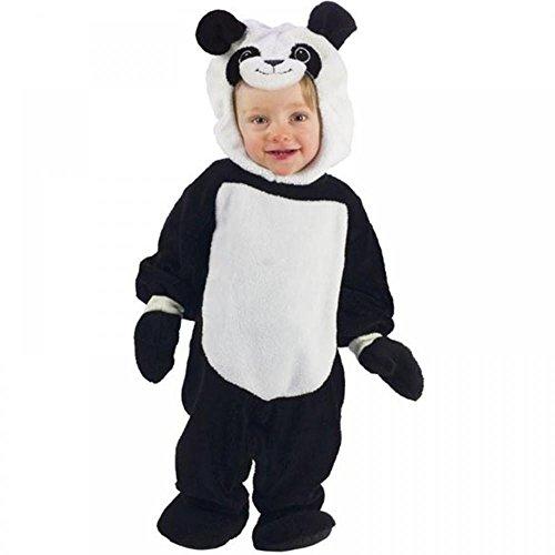 Cute Baby Kleinkind Plush Giant Panda Zoo Wild Bär Animal Halloween Kostüm Kleid Outfit 6-12m (Bär Kostüme Kleinkinder)