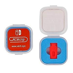DN-Brosche für Nintendo Switch RCM Tool Kurzschluss-Werkzeug RCM SX OS zum Ändern von GBA/FBA und anderen Simulatoren