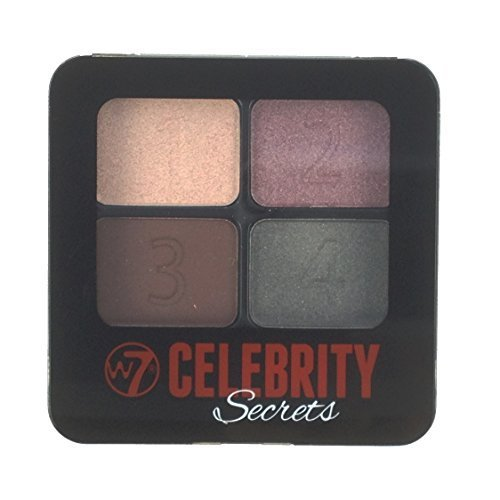 W7 Cosmetics Celebrity Secrets 4 Step To Perfect Eyes Sultry