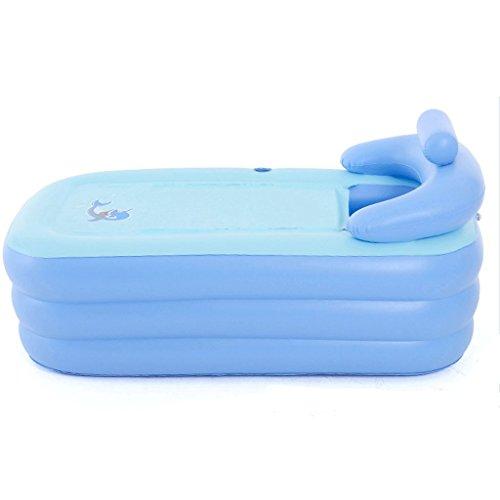 Yp Aufblasbare Badewanne Doppel Tragbare Aufblasbare Badewanne Freistehende  Badewanne Falten Warme Dicke Erwachsene