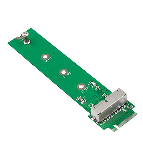 Futheda PCIE SSD auf M.2 Key M Adapter Karte Festplatte Konverter zu NGFF M2 kompatibel mit 2013 2014 2015 2016 2017 Retina Unterstützung Modell A1465 A1466 A1398 A1502