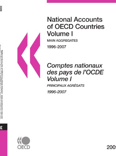 National Accounts of OECD Countries 2009, Volume I, Main Aggregates: Edition 2009 par OECD Organisation for Economic Co-operation and Develop