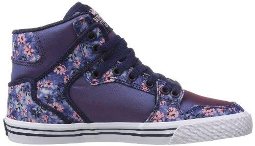 Supra WOMENS VAIDER SW28021 Damen Sneaker Violett (PURPLE/FLORAL - WHITE PFL)