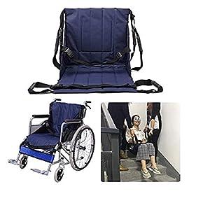 Patientenlift Treppe Rutsche Board Transfer Chair Rollstuhlgurt Sicherheit Ganzkörper medizinische Hebeschlinge Übertragen von Disc-Einsatz für Senioren, Handicap