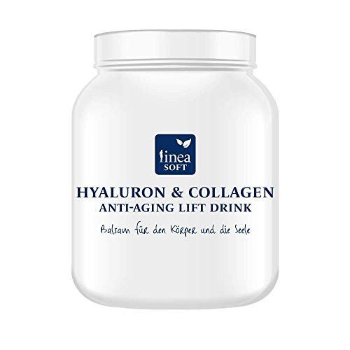 Linea Soft Hyaluron & Collagen Beauty Drink Pulver HCD mit Anti-Aging Lift Effekt 400 g