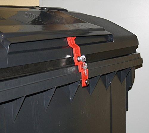 *Müllcontainerverschluss, 1100 Liter für Otto, Deckel im Deckel*