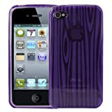 Logotrans Phaser Series Coque silicone pour Apple iPhone 4 Mauve (Import Allemagne)
