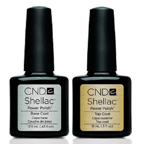 CND Shellac Top/Base Nagellack, 15ml/12,5ml -