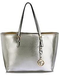 43b0b60cd3 LeahWard Oversize Damen Shopper Taschen Qualität Faux Leder Umhängetasche  Handtaschen für Frauen Schulferien CW31
