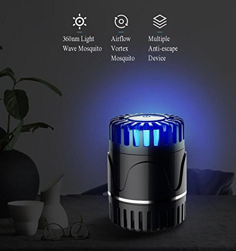 oolsm x tueur de moustique lectronique usb aliment moustique lampe tueur led light insecte. Black Bedroom Furniture Sets. Home Design Ideas