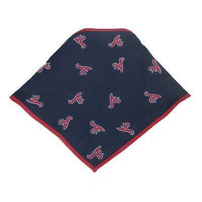 Sporty K9 Hund Bandana–Atlanta Braves, Atlanta Braves, Large, New Design (Varsity Hund Jacke)