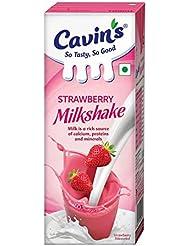 Cavin's Milkshake, Strawberry, 180ml